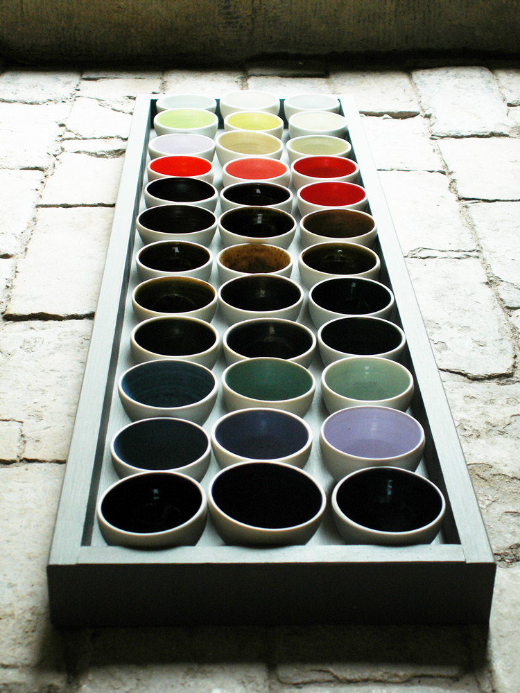 Ceramic Installations - Interactive colour
