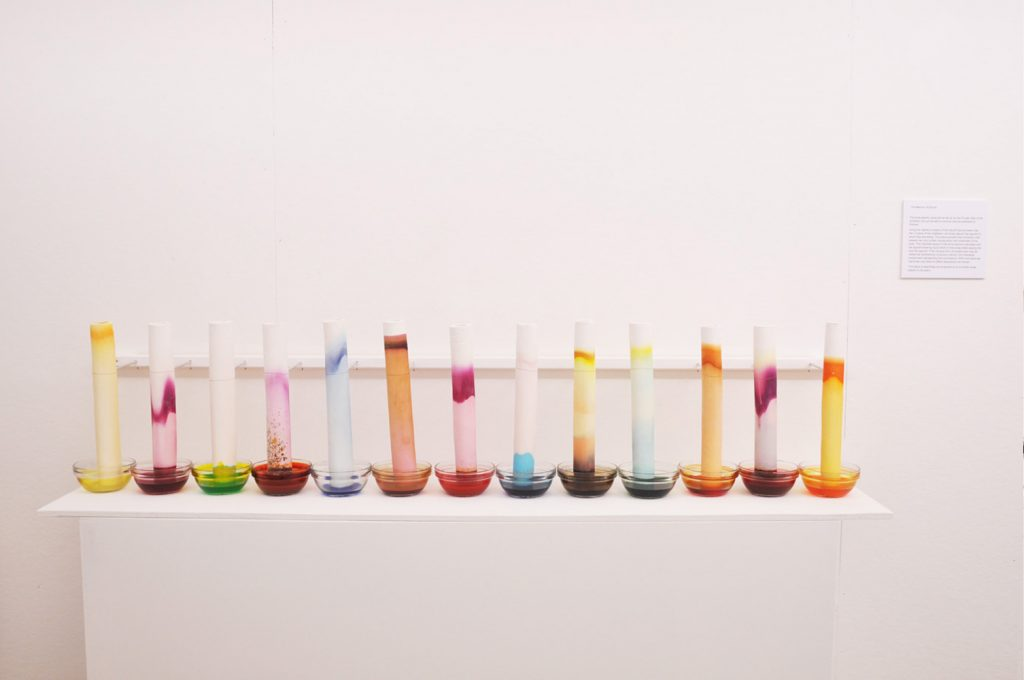 Ceramic Installations - The Memory of Sound