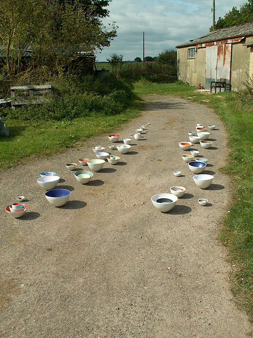 Ceramic Installations - On the Road