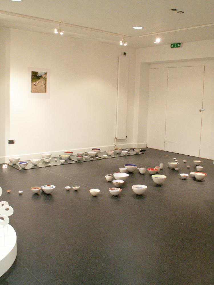 Ceramic Installations - MA Exhibition