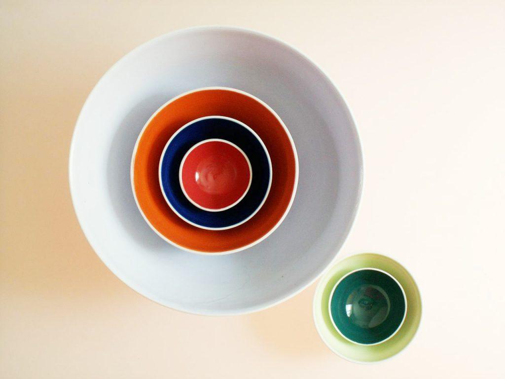 Ceramic Installations - Nesting Bowls